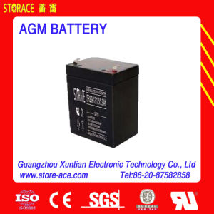 CE/SGS 12V AGM Battery 12V 2.9ah Battery pictures & photos