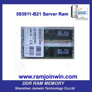 593911-B21 Server Ram 4GB (1X4GB) Single Rank X4 PC3-10600 pictures & photos