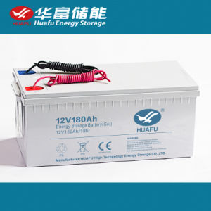 Gel Lead Acid High Cycle Rechargeble Battery 12V 100ah pictures & photos