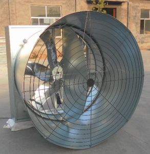 Butterfly Shutter Cone Exhaust Fan / Shutter Ventilation Fan for Poultry Farm House pictures & photos