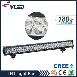 "12V 28"" 180W 14400lm off Road Auto Lamp CREE Radius LED Car Light Bar pictures & photos"