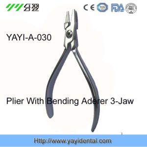 Dental Instrument: Bending Aderer 3-Jaw Plier (YAYI-030) pictures & photos