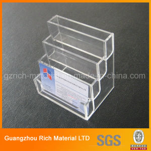 Acrylic Brochure Holder/Plastic Bookshelf/Plexiglass Acrylic Display Stand pictures & photos