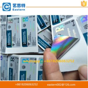 Hologram Label for Injection Vial Steroid 10ml Bottles pictures & photos