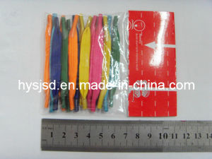 Wholesale Elastic Flat U Shoelace pictures & photos