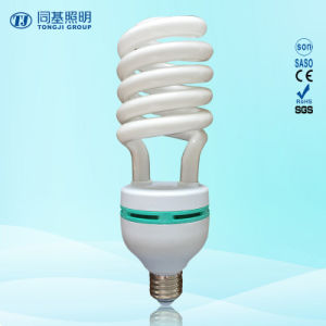 Tri-Color 75W Half Spiral Energy Saver Lamp pictures & photos