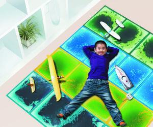 Children Playground Floor, Kindgarden Floor Tile