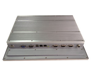 15′′ Fanless Indsutrial Touch Panel Pc′s with Atom D525 Dual Core 1.8GHz, with PCI Slot (IPPC-1520) pictures & photos
