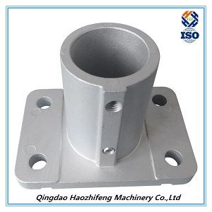 Aluminum Die Casting Angle Foot Part for Fall Protection Equipment pictures & photos