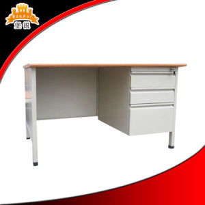 School Use Steel Office Desk with Drawer pictures & photos