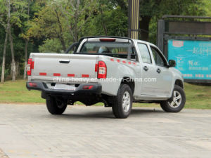 4X2 Petrol /Gasoline Double Cabin Pick up (Long Cargo Box, Standard) pictures & photos
