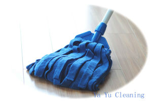 Microfiber Wet Mop Head (YYMK-350C) pictures & photos