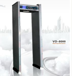 Multi Zone Walk Through Metal Detector Vo-8000 pictures & photos