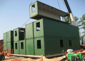 Hot Sale Rockwool Panel Container House/ Camp/ Labor Accommodation pictures & photos