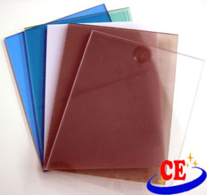 1.5-15mm Thickness Colored Polycarbonate Solid Sheet with UV Protection