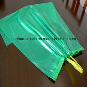 Heave Duty Plastic Drawstring Roll Garbage Bag for Bin