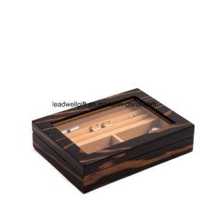 Decorative Pattern Jewelry Cufflink Storage Box pictures & photos