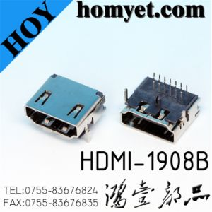 HDMI Connector for Cable Accessoriess (HDMI-1908B) pictures & photos