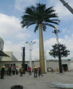 High-Quality Camouflage Palm Tree Antenna Tower pictures & photos