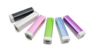 2600mAh Power Bank for Smartphone/iPad/iPod/iPhone