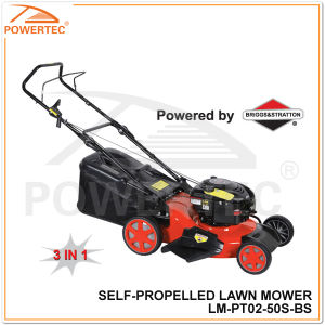 Powertec 3 in 1/B&S 625 Series Gasoline Lawn Mower (LM-PT02-50S-BS) pictures & photos
