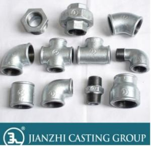UL FM Ce Galvanized Banded Malleable Iron Pipe Fittings pictures & photos