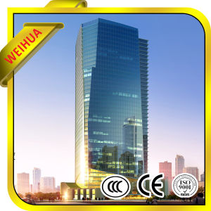 High Quality Green, Grey, Blue, Brown Insulated Glass for Commercial Building pictures & photos