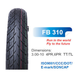 Durable Motorcycle Scooter Tyre Bias Tire 3.00-10