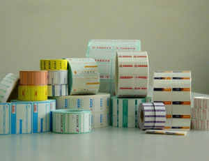 Rtry-320b Adhesive Label 2 Color Flexographic Paper Printer for Sale pictures & photos