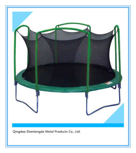 12FT Outdoor Kids Trampoline with Safety Net Jumping Trampoline pictures & photos