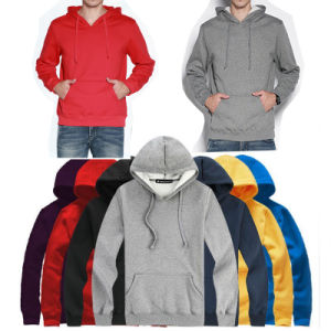Wholesale Plain Casual Pullover Hoodies for Men pictures & photos