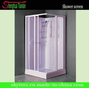 Low Tray Simple Modular Pale Red Shower Bathroom (TL-8833) pictures & photos