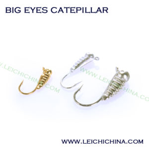 Winter Is Coming Tungsten Ice Jig Big Eyes Catepillar pictures & photos