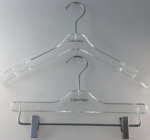 Acrylic Clothes Hanger Pants Hanger Suit Hanger Coat Hanger pictures & photos