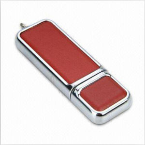 Leather USB Flash Disk, Promotional USB Disk pictures & photos