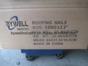 Galvanized Best Quality Zinc with Roofing Nails and Common Nails