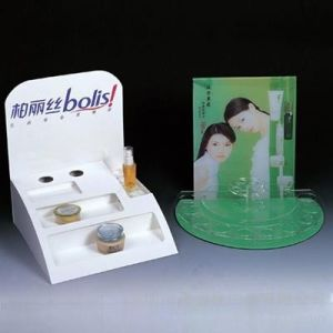 Cosmetic Display Box with PVC Tray pictures & photos