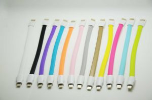 Magnet Flat USB2.0 USB Cable (20CM) for iPhone6, IP6 Plus, iPad, iPad Mini, etc. pictures & photos