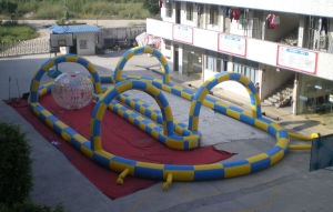 Giant Inflatable Race Track 20X10X3m for Sale pictures & photos