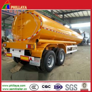 Steel Tanker Storage Liquid Fuel Trailer with Suspensions pictures & photos