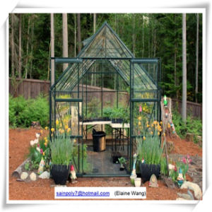 Polycarbonate Aluminium Frame Garden Green House pictures & photos