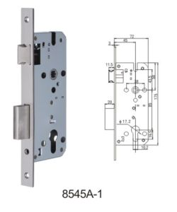 Stainless Steel Door Lock Body Lockcase Mortise Lock (8545A-1) pictures & photos
