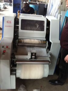 Small Llama Yarn Carding and Spinning Textile Machine pictures & photos