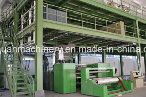 3.2m Three Beam PP Spun Bond Nonwoven Fabric Making Plant pictures & photos