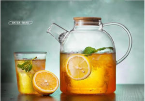 Handmade Kitchenware Glass Teapot Glass Jar for Household pictures & photos
