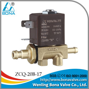 220V Tube Connector Air Solenoid Valve (ZCQ-20B-17) pictures & photos