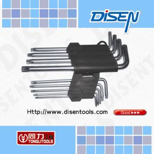 9-Piece Star Hex Key (45# Carbon Steel, CRV) pictures & photos
