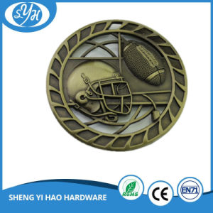 Shiny Gold Plating Sports Medal pictures & photos