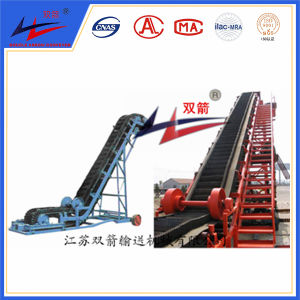 Good Quality Large Angle Belt Conveyor with Corrugated Wall pictures & photos