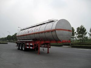 38000L SUS Insulation Tank Transportation for Chemical Fluid Delivery (HZZ9406GHY) pictures & photos